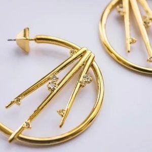 Alexis Bittar Jewelry - Alexis Bittar Satellite Crystal Spike Earrings